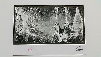 Balto Animated Film - Storyboard - Balto in Ice Cave -USSBA.009.608