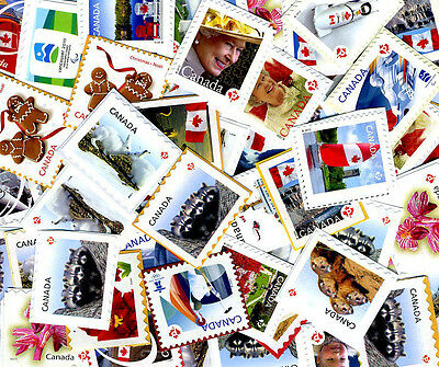 250 P RATED/ UNCANCELLED POSTAGE STAMPS, all P-Rate,  ON PAPER,