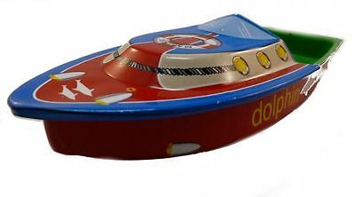 Candle Boat, Pop Pop Boat, Dolphin, Tin Treasures, Plate,. Tin Toys
