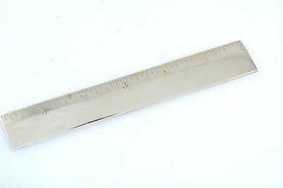 "Tiffany & Co Sterling Silver 6"" Ruler"