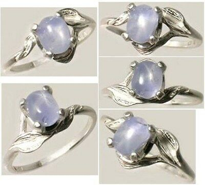 19thC Antique 1¾ct Star Sapphire Ancient Rome Celt Druid Sorcery Oracle Prophecy