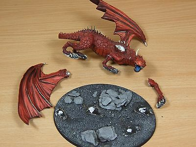 Classic Metal Warhammer Dragon Well Painted (L)