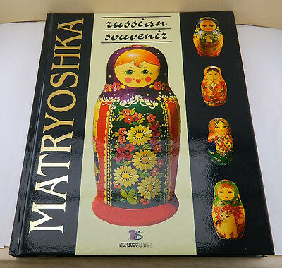 New Russian Book Nesting Doll Matryoshka In English Beautiful Illustrations