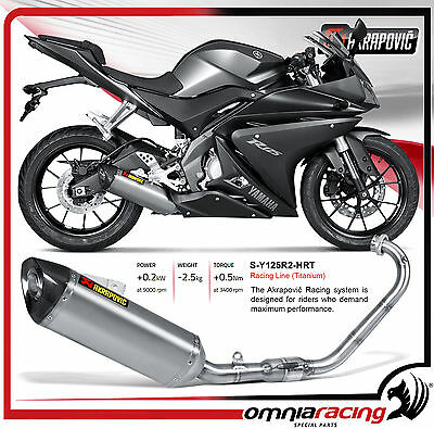 akrapovic sportauspuff auspuff exhaust yamaha mt 125 yzf. Black Bedroom Furniture Sets. Home Design Ideas