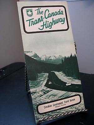 The Trans-Canada Highway Government Travel Brochure - Good