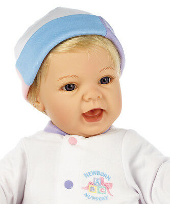 "Madame Alexander Sweet Baby Blonde/Blue eyes 19"" Baby Doll - NEW"