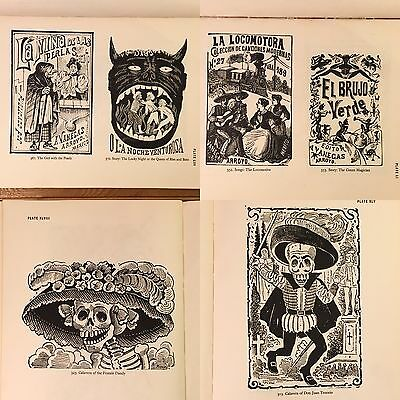1944 Jose Guadalupe Posada Printmaker To Mexican People Book Art Institute