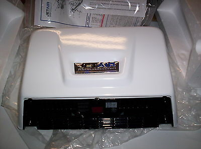 JETAIR N2 White Hand Dryer Commercial New in Box
