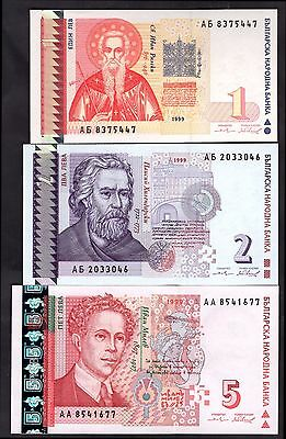 Bulgaria. Five Notes, 1999, inc 20 Leva, AH 2177371.