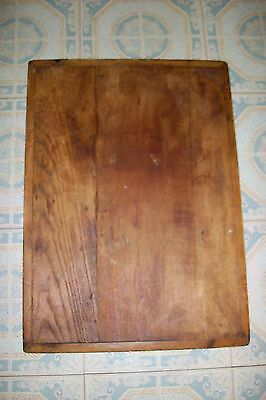 Old RESTORATION SALVAGE ANTIQUE DESK WRITING BOARD/RE-PURPOSE WOOD CUTTING PLANK