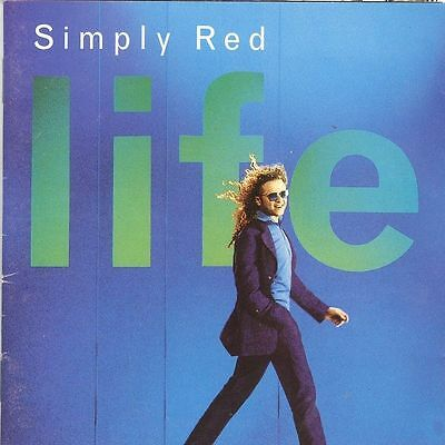 Simply Red Life CD You Make me Believe Fairground So Beautiful