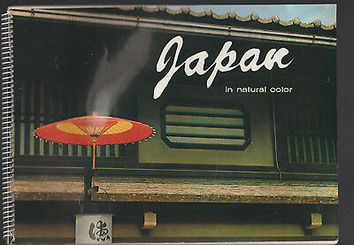 Japan in Natural Color Shindo Company Travel Book