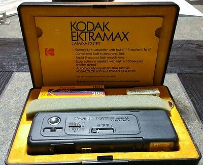 Vintage Kodak Ektramax Camera in Original Box