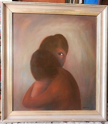 oil painting on board Australian art beautiful H. Sparks signed signature #