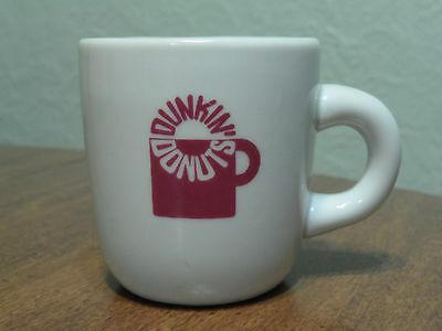 Vintage Dunkin Donuts Coffee Mug Cup Diner Restaurant Ware With 1960's Logo