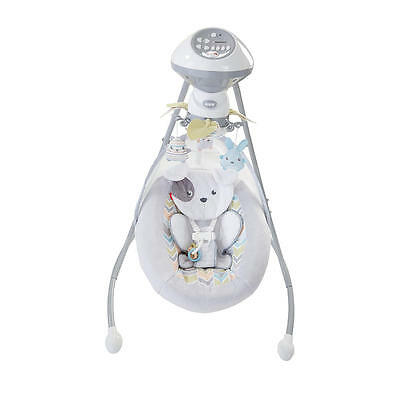 New Fisher-Price Sweet Snugapuppy Dreams Cradle 'n Swing Model:25414042