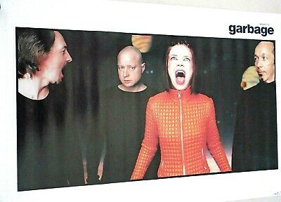 """Garbage / Orig.vintage Poster / #02200 / Exc. new cond. / approx. 22 x 34"""""""