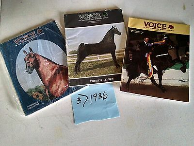 Vintage 1986  Voice of The Tennessee Walking Horse  Magazine (3)