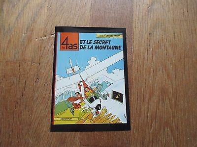 PHOTO DOSSIER DE PRESSE BD LES 4 AS secret de montagne craenhals format 12 x 8