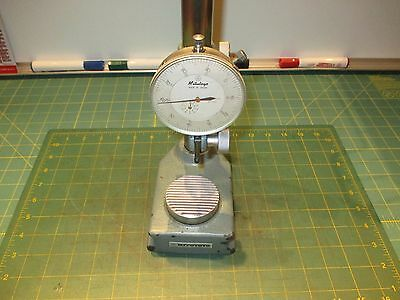 Machinist Tools * Transfer / Dial Gage Stand * Mitutoyo * With Dial Indicator