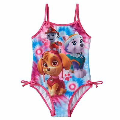 """Nickelodeon """"paw Patrol"""" Toddler Girl's One-Piece Swimsuit Size 4T Nwt"""