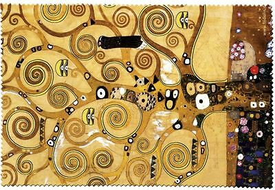 Klimt: Tree Of Life - Glasses Cleaning Cloth Microfibre