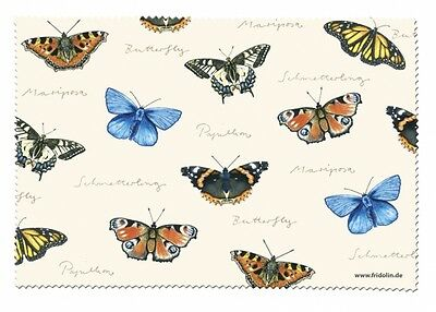 Nature: Butterflies - Glasses Cleaning Cloth Microfibre