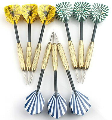 3 sets of Steel Tip Darts 24g Heavy Dart Set AU Shipping