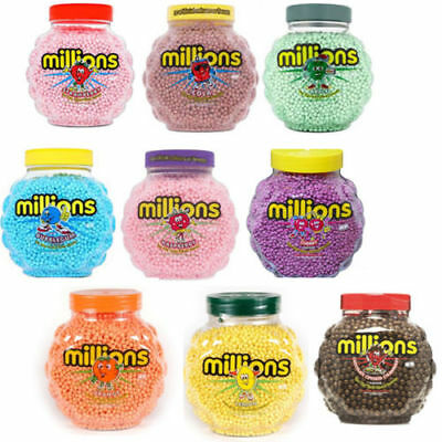 Millions Bubblegum Or Strawberry Wedding Favours Party Filler Bags Retro Sweets