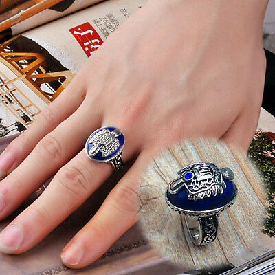 2016 The Vampire Diaries Damon Finger Crest Retro Ring High Quality Hot Sale