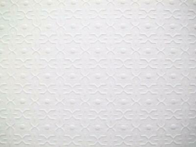 Dolls House Embossed Ceiling Paper Miniature Dado Print 1:24 Scale Wallpaper