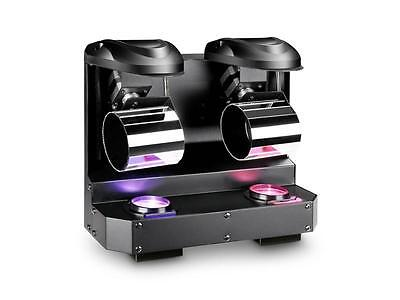 Cameo NanoRoll 200 - Double LED Mini Barrel Scanner 2x 10 W