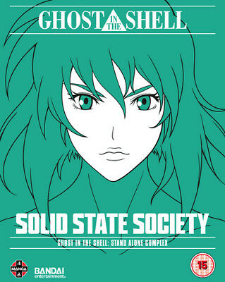 Ghost in the Shell: Stand Alone Complex - Solid State Society Blu-Ray (2017)
