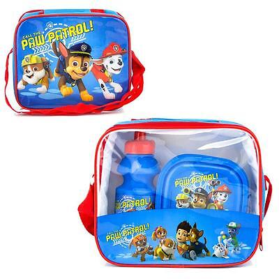 Paw Patrol - 3 in 1 Set Sandwich Box - Lunchbag, Lunchbox & Sport Bottle