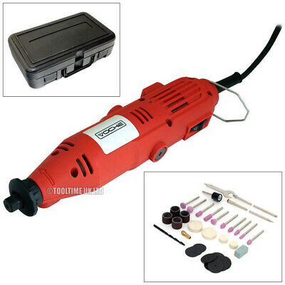 Voche® Mini Rotary Hobby Drill Combi Multi Grinder Tool Set & 105Pc Accessories