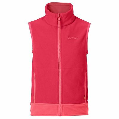 Vaude Kids Eagle Eye Vest III Kinder Fleeceweste rot
