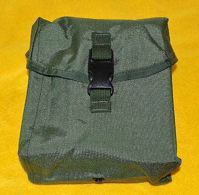 SAW 200 Pouch  only  OD Olive Drab Brand new Army