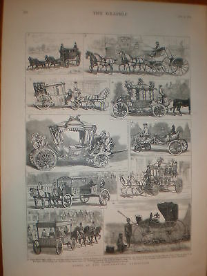 Notes at the Coachmaker's Exhibition 1879 prints