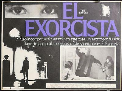 L319 THE EXORCIST Mexican movie Lobby Card, Linda Blair,  '74 William Friedkin,