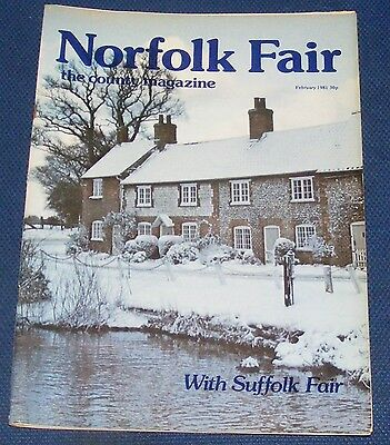 Norfolk Fair Magazine February 1981 - Pakenham/thetford