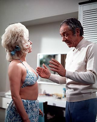 """Carry On Abroad Barbara Windsor / Sid James Film Still 10"""" x 8"""" Photograph no 5"""