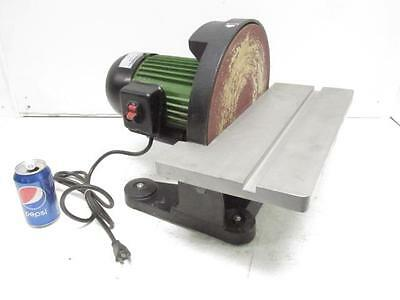 """Nice Central Machinery 12"""" Bench Top Direct Drive Disc Sander Polisher #43468"""