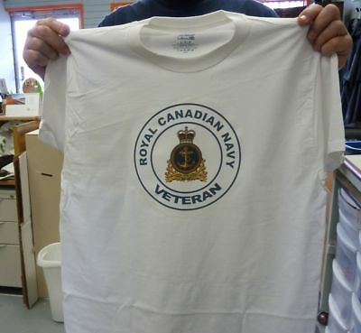 Royal Canadian Navy Veteran T-shirt