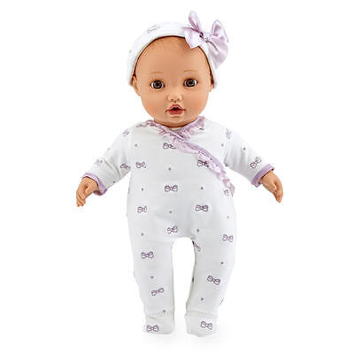 """New You & Me Baby So Sweet Brunette 16""""Nursery Doll - Brunette with Brown Eyes"""