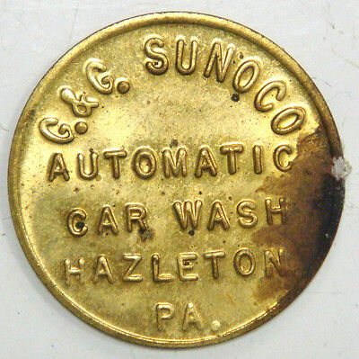 G & G Sunoco Automatic Car Wash, Hazleton, Pa. Good for 75¢ on Car Wash
