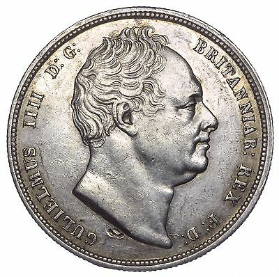 1836 Halfcrown - William Iv British Silver Coin - V Nice