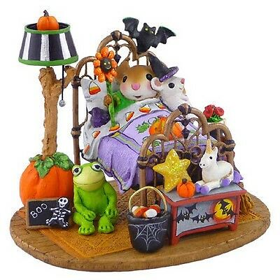 Wee Forest Folk Retired Halloween Dreams Bed Ltd Discounted Save $100 New