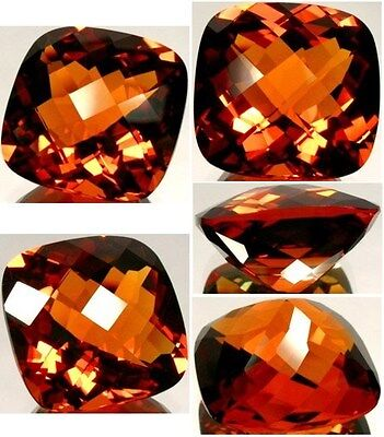Handcrafted 37ct Russia Citrine Ancient Greek Roman Crystalized Sunshine Essence