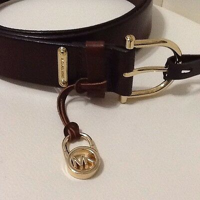 Michael Kors Belt Brown Leather Women's Extra Large NWT