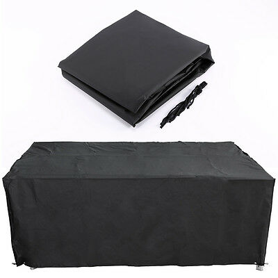 HEAVY DUTY WATERPROOF LARGE GARDEN PROTECTIVE FURNITURE COVER 200x160x70cm
